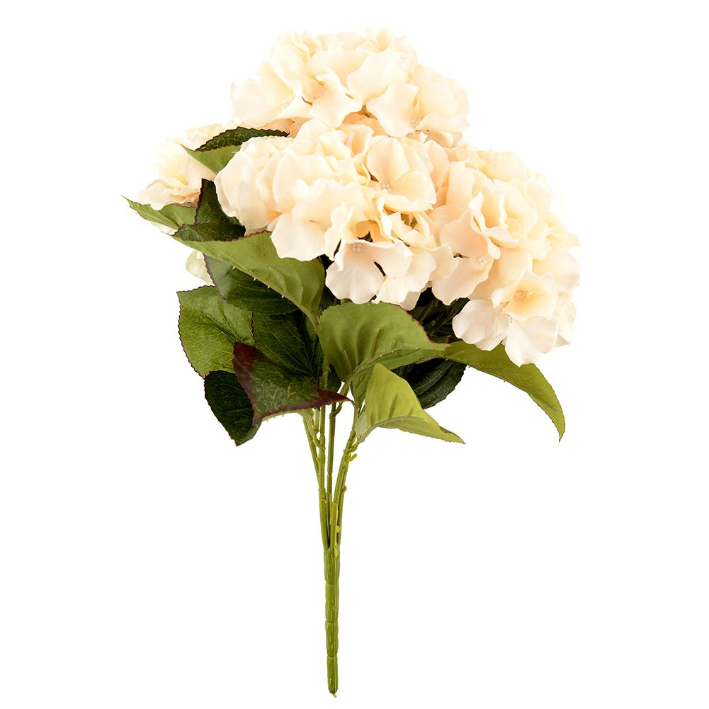 5 Flower Heads Artificial Flower Bouquet Home Hotel Party Floral Hydrangea