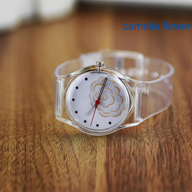 Часы омега прозрачные