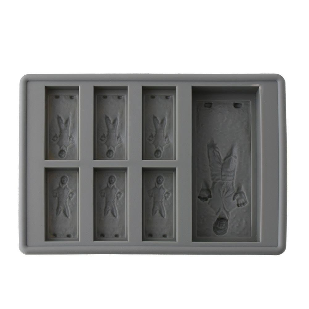 New R2d2 Han Solo Star Wars Ice Cube Tray Mold Silicone Mold Cookies Soap Mould
