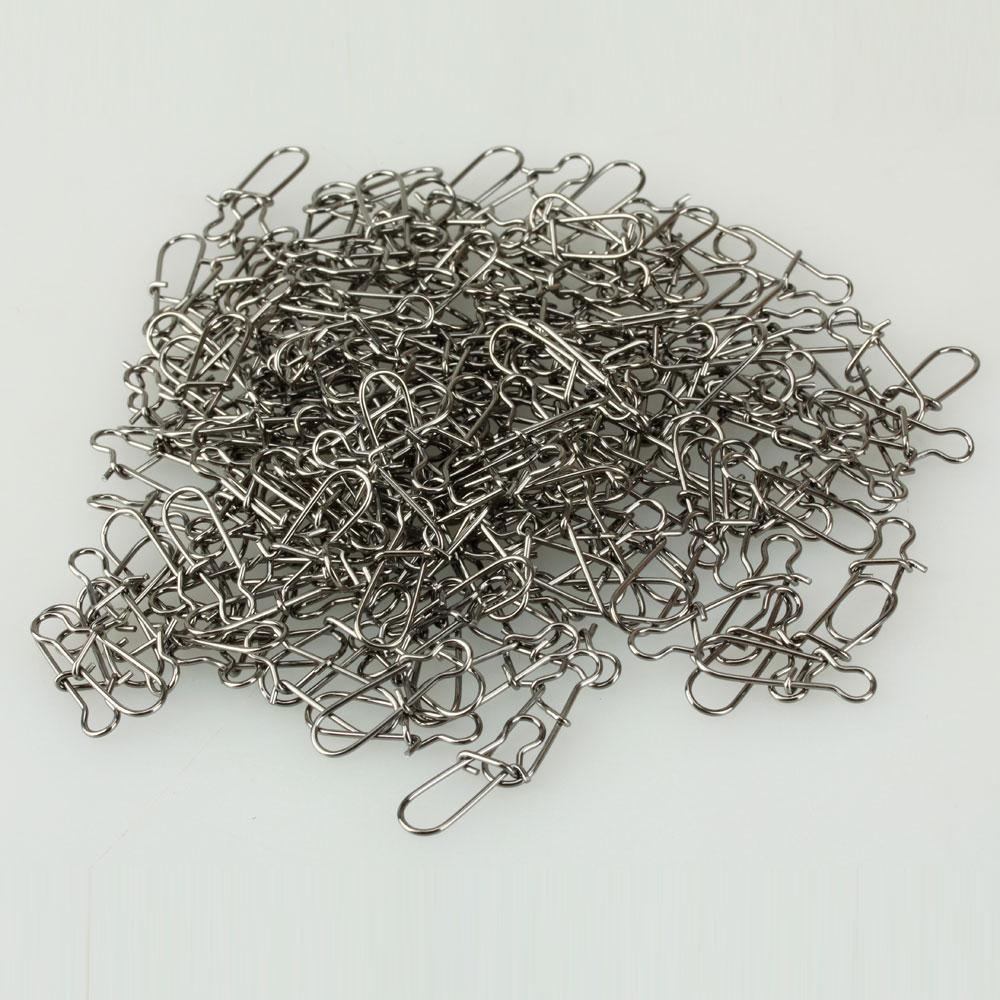 79C6-100pcs-Fishing-Tackle-Swivel-Solid-Snaps-Connector-1-5-1-7-2-2cm-Durable