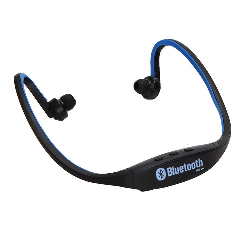 wireless bluetooth neckband sports mic in ear headset headphones for iphone 6 7 ebay. Black Bedroom Furniture Sets. Home Design Ideas