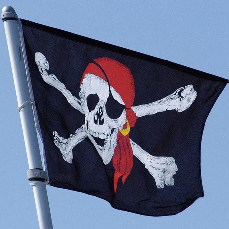 F0FA-Huge-Skull-Crossbones-Red-Turban-Pirate-Flags-Holloween-Hanging-Grommet