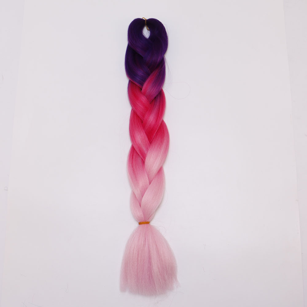B4F7-24inch-Synthetic-Hair-Extension-Braiding-Hair-Braids-Straight-For-Female
