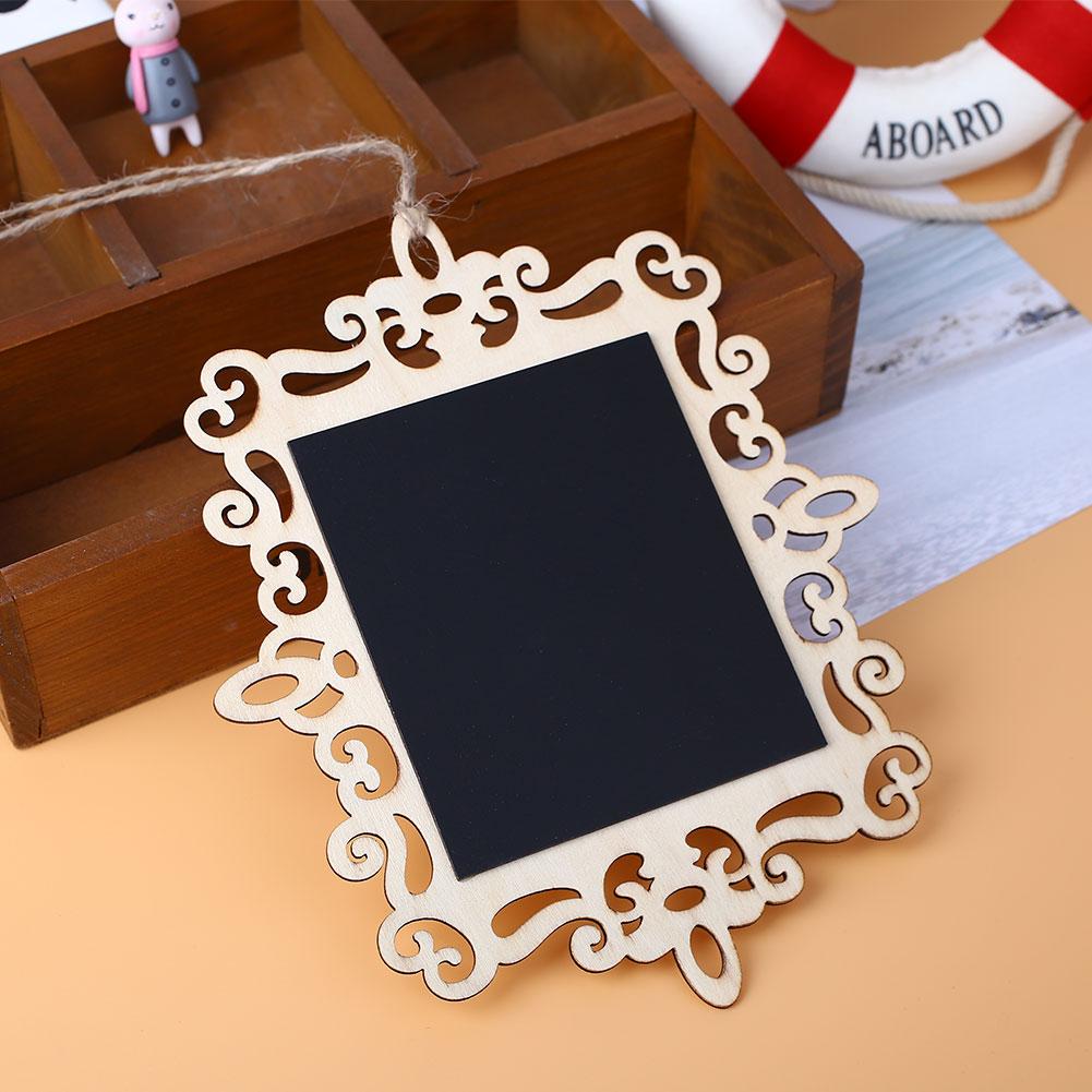 Large-Wooden-Chalkboard-Blackboard-Message-Board-Hollow-Wedding-Creative-DE32