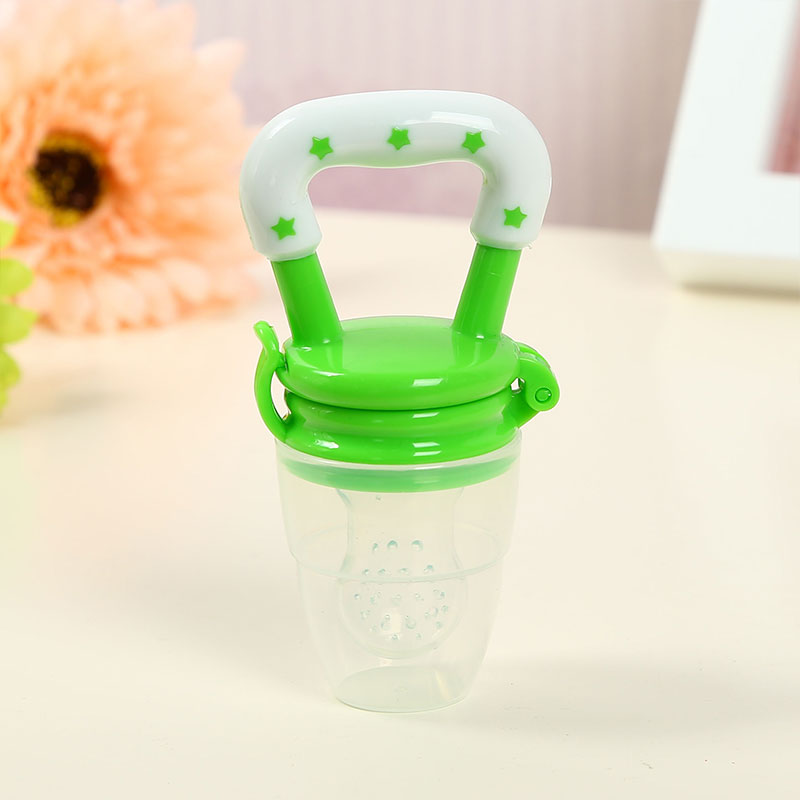 80C5-Baby-Nipple-Pacifier-Soother-Toys-Silicone-Safety-Food-Feeder-Translucent