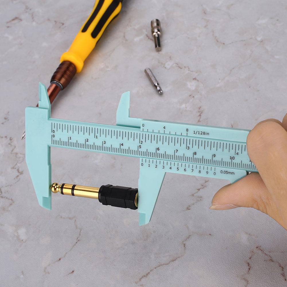 8A7D-Standard-150MM-Plastic-Caliper-Sliding-Vernier-Ruler-Measurement-Tool-ABS