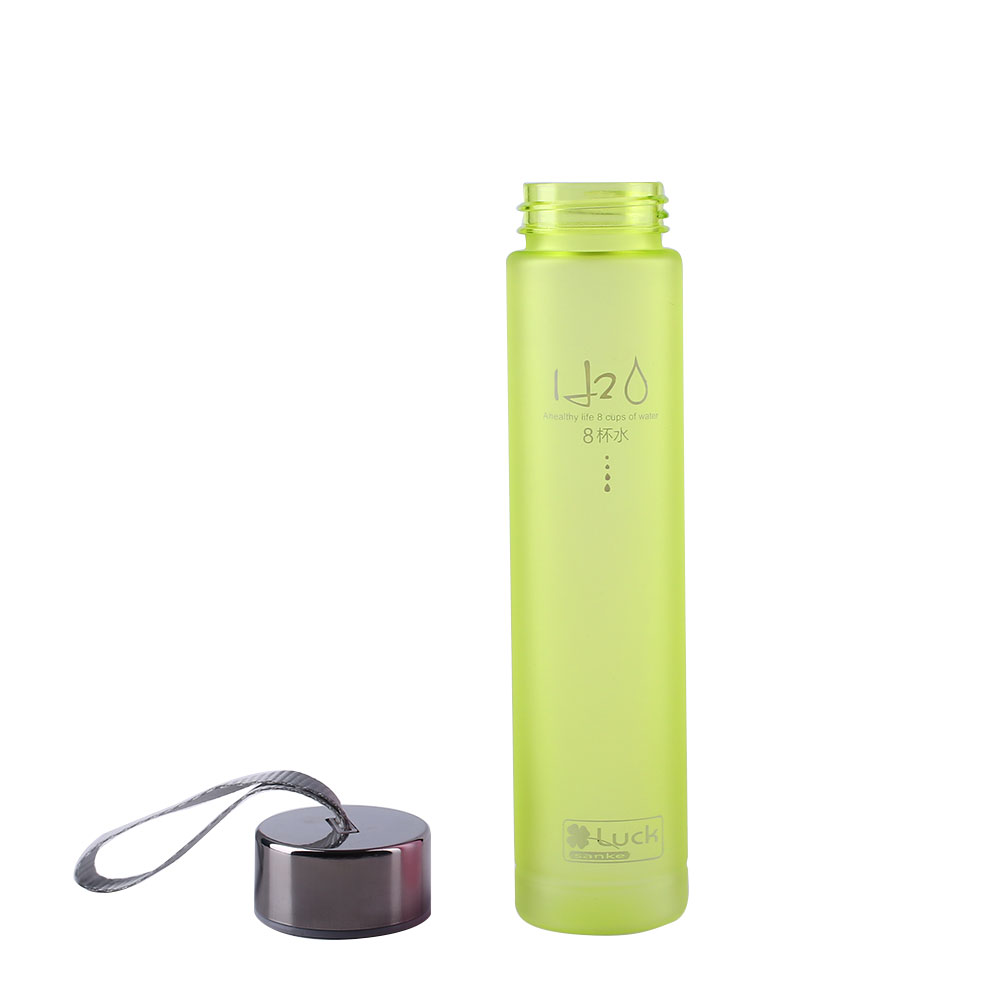 8229-Sugar-Fruit-Juice-Water-Cup-Portable-Camping-Travel-Bottle-300ML-Plastic