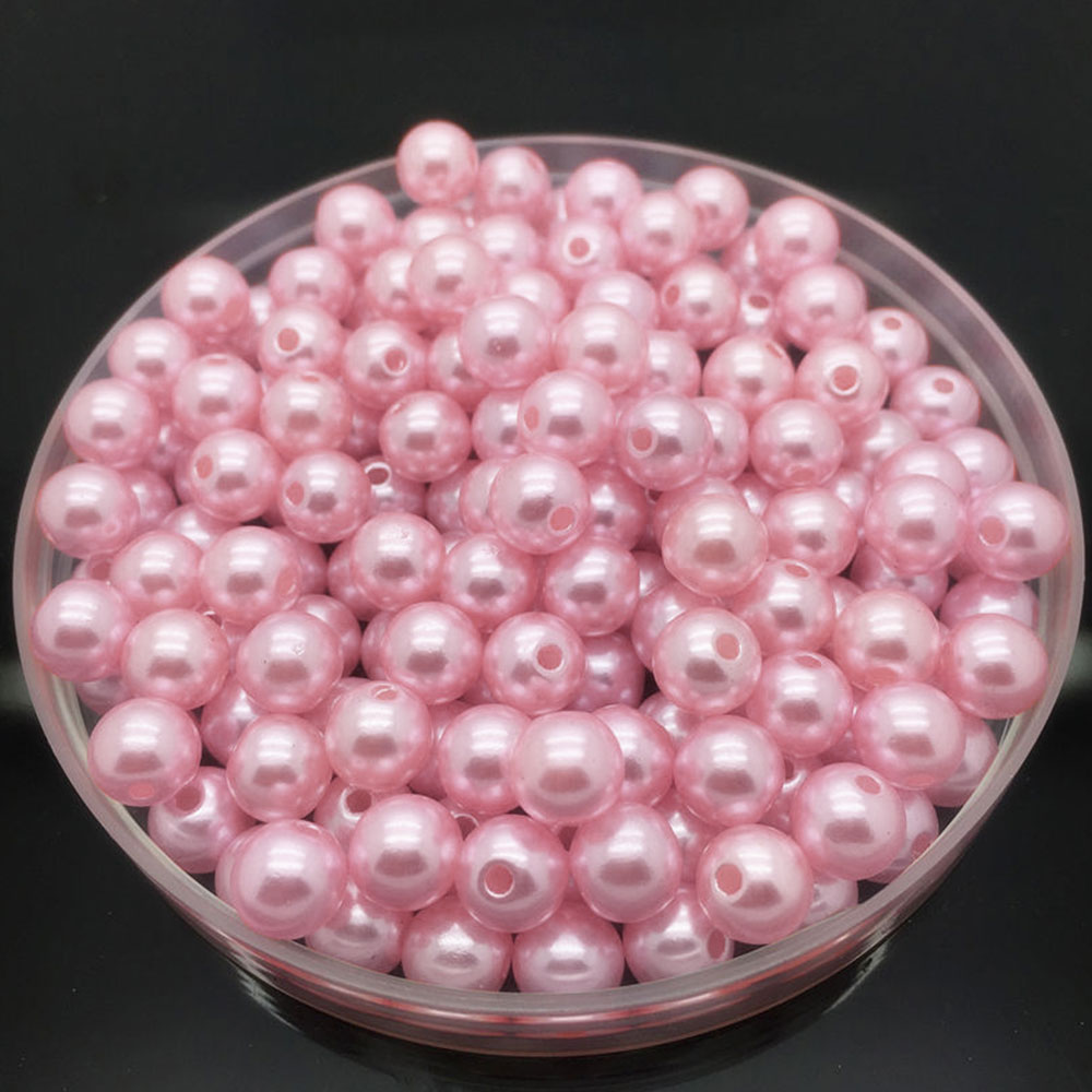 4BED-100Pcs-DIY-Acrylic-Round-Pearl-Spacer-Loose-Jewelry-Beads-Crafts-Making