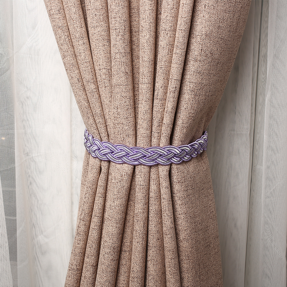 81FE-1-Pc-of-Braided-Tiebacks-Tie-Back-Rope-Curtains-Holdbacks-Curtain-amp-Voile