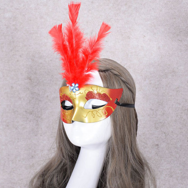 91A1-LED-Feather-Mask-Female-For-Masquerade-Costume-Party-Halloween-Decoration