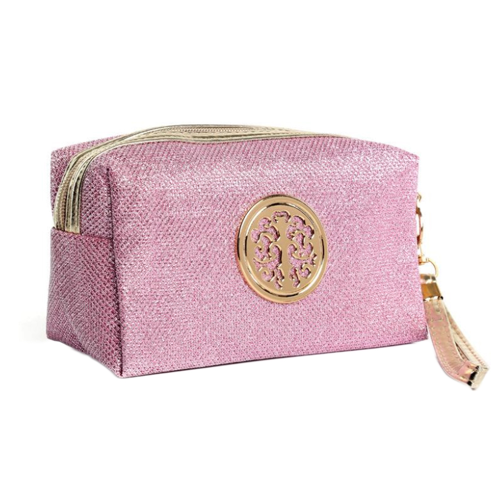 CC55-Women-Clutch-Cosmetic-Bag-Small-Makeup-Pouch-Toiletry-Solid-Pattern-Girls