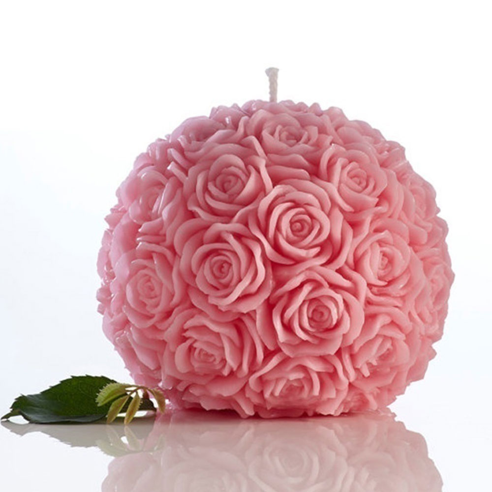3E3F-Romantic-3D-Rose-Ball-Candle-Decorative-Elegant-Wax-Candles-Wedding-Decor