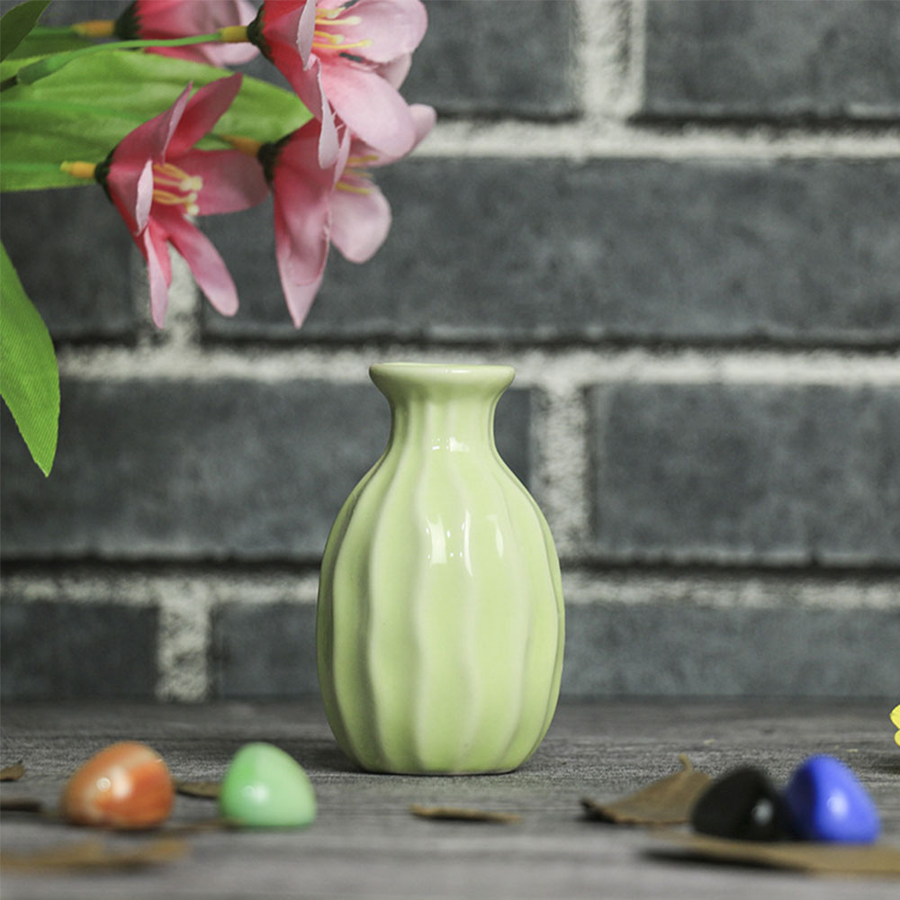EF83-Home-Garden-Ceramic-Pottery-Flower-Pot-Office-Mini-Vase-Wedding-Ornaments