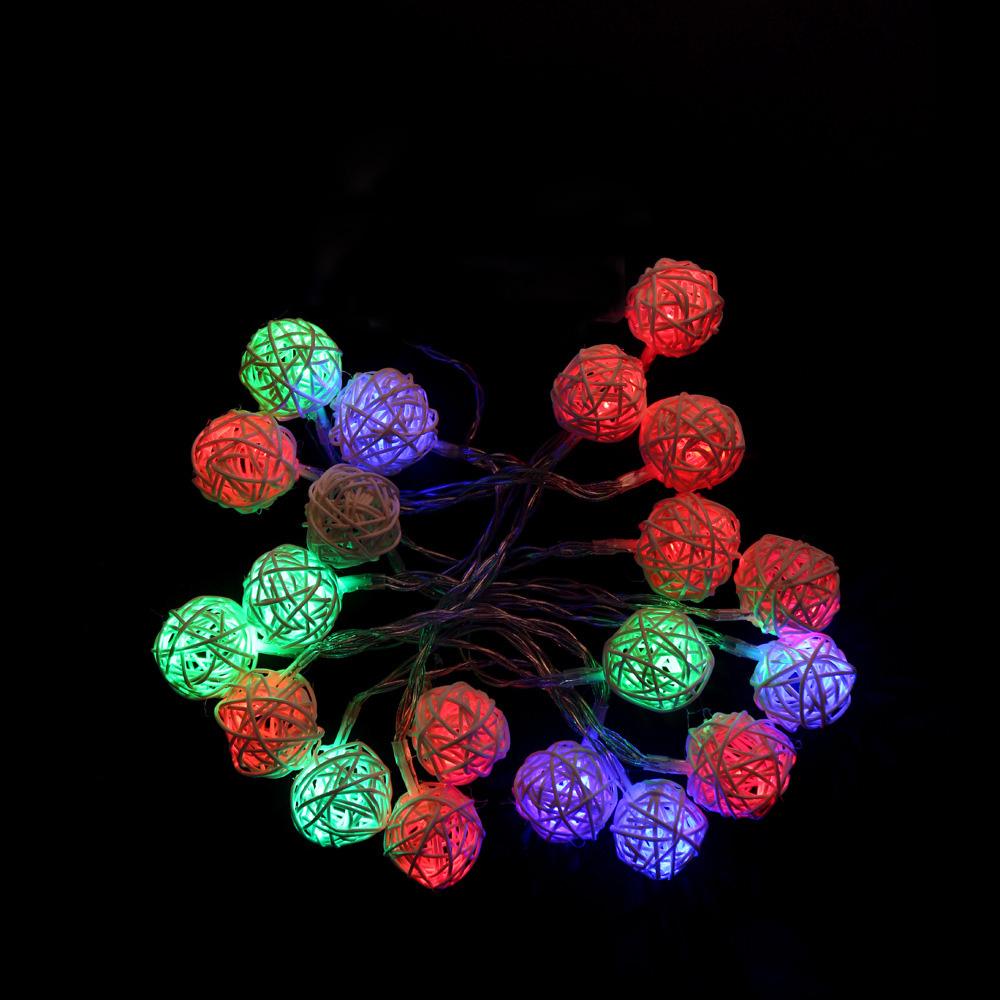 65AE-USB-Light-String-Fairy-Lights-Rattan-Ball-Christmas-Festival-Decoration