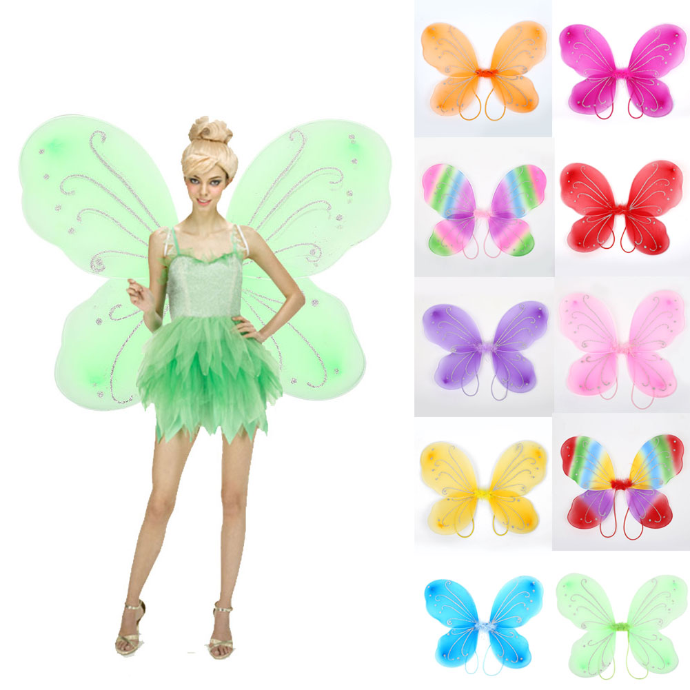 C489-Adult-Elf-Butterfly-Wings-Fairy-Dress-Up-Girls-Costume-Gift-Photo-Props