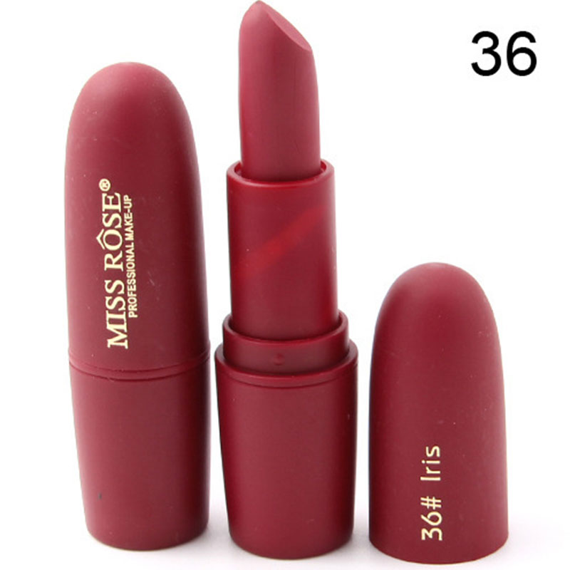 AF5D-Miss-Rose-Beauty-Matte-Moisturizing-Lipstick-Makeup-Waterproof-Cosmetic